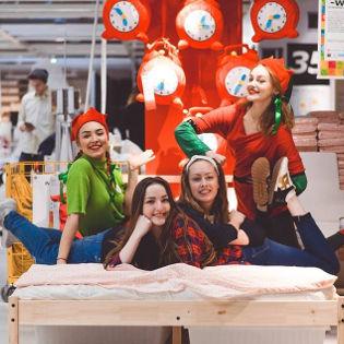 FLASH MOB ORAZ ANIMACJE W IKEA ŁÓDŹ